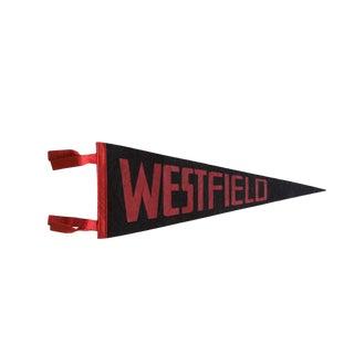 Vintage Westfield Felt Flag Pennant For Sale