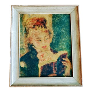 The Reader by Pierre-Auguste Renoir Painting For Sale