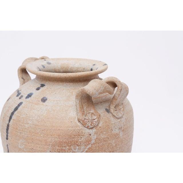 Vintage Hand Made Studio Pottery Ceramic Vase For Sale - Image 4 of 5