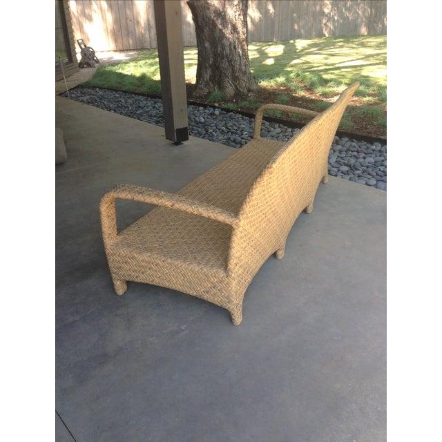 Brown Jordan Outdoor Patio Sofa - Image 6 of 10