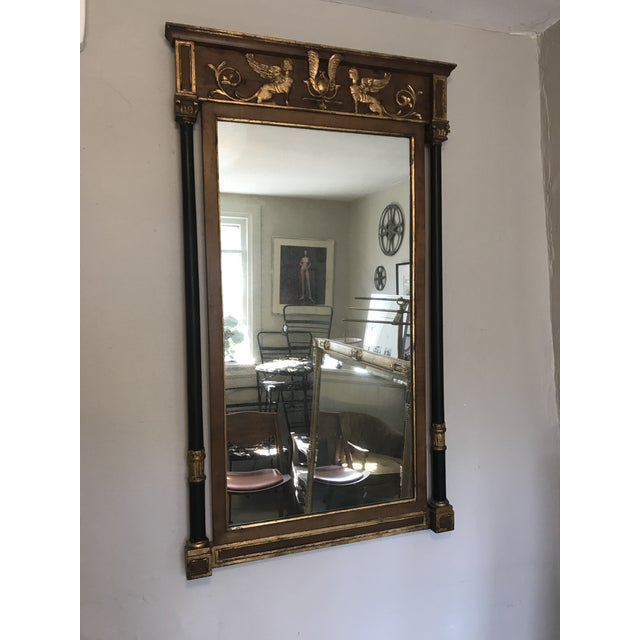 Glass Friedman Brothers Regency Mirror For Sale - Image 7 of 8