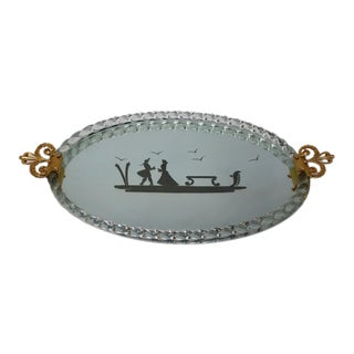 FratelliBarbini - Mirrored Serving Tray For Sale