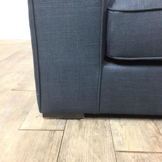 Modern Navy Sectional Sofa - Image 8 of 8