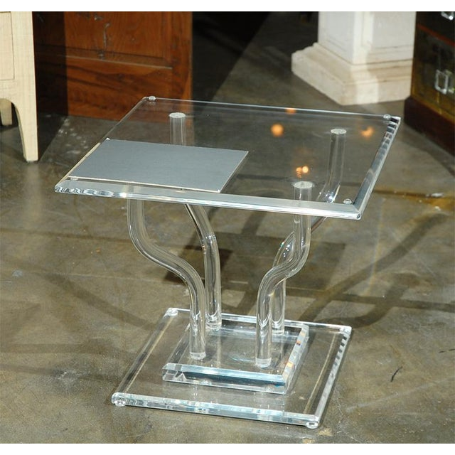 Lucite Occasional Table - Image 2 of 7