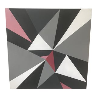 Ross Severson Abstract Acrylic Painting