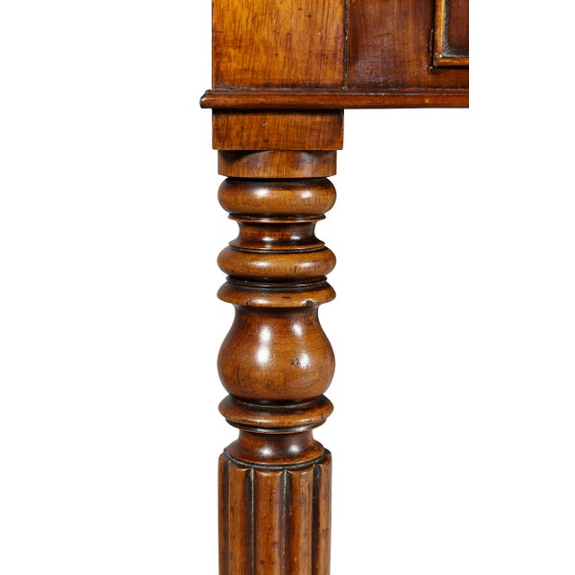 Regency Mahogany Writing Table For Sale In Boston - Image 6 of 12
