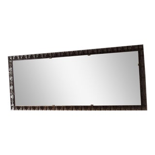 Large Italian Modern Neoclassical Floor/Wall Mirror