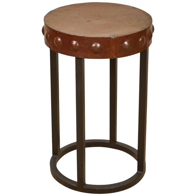 Primitive Iron Side Tables For Sale