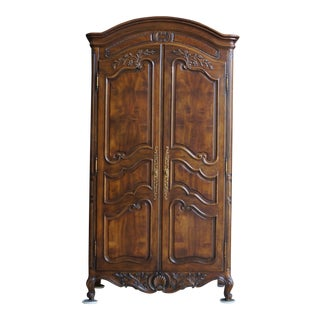French Country Henredon Armoire For Sale