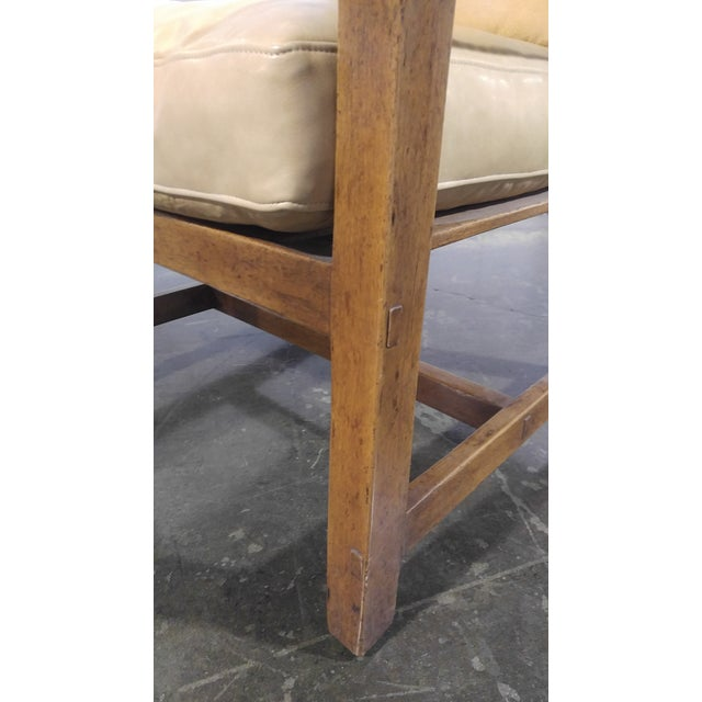 Rose Tarlow High Back Chair in Walnut Finish For Sale In Los Angeles - Image 6 of 11
