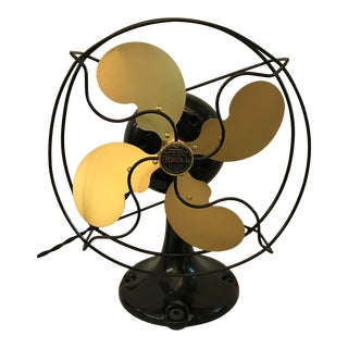 Vintage Art Deco 1923 Emerson Electric Fan For Sale