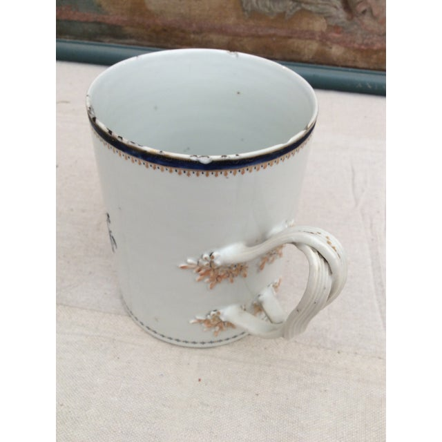 18th Century Chinese Export Tankard For Sale - Image 4 of 10