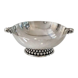 Art Deco Silver Handled Bowl by Meister of Zurich