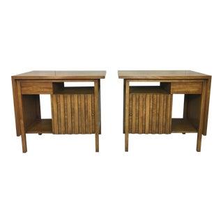 John Widdicomb Bedside Tables - A Pair