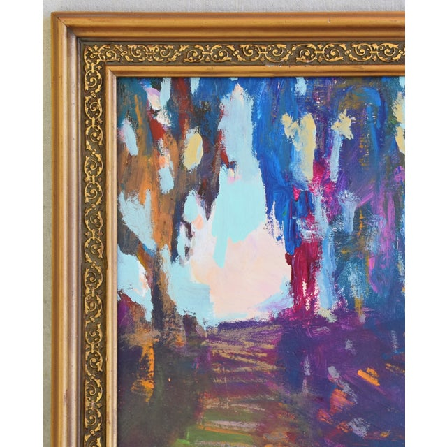 "Ojai California Landscape Painting by Juan ""Pepe"" Guzman For Sale In Los Angeles - Image 6 of 10"