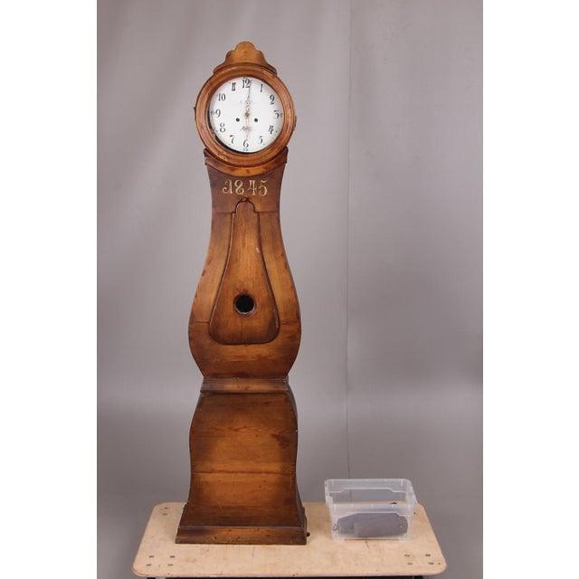Swedish Longcase Grandfather Clock Anno 1845 For Sale - Image 12 of 12