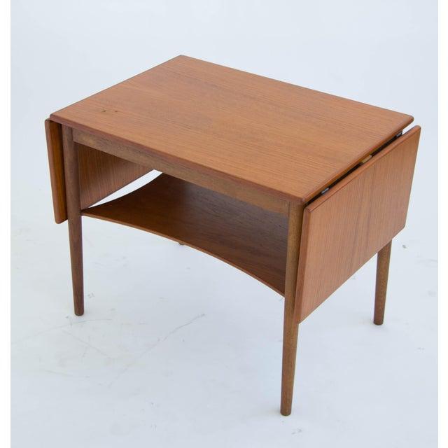 Borge Mogensen Drop Leaf Side Table - Image 3 of 6