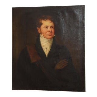 Early 19th Century Portrait of a Gentleman For Sale