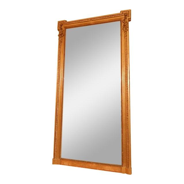 19th Century Louis XVI Gold Gilt Mirror For Sale