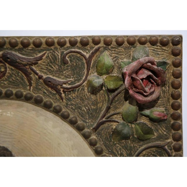 19th Century French Terracotta Plaque C. 1860 For Sale In Dallas - Image 6 of 8