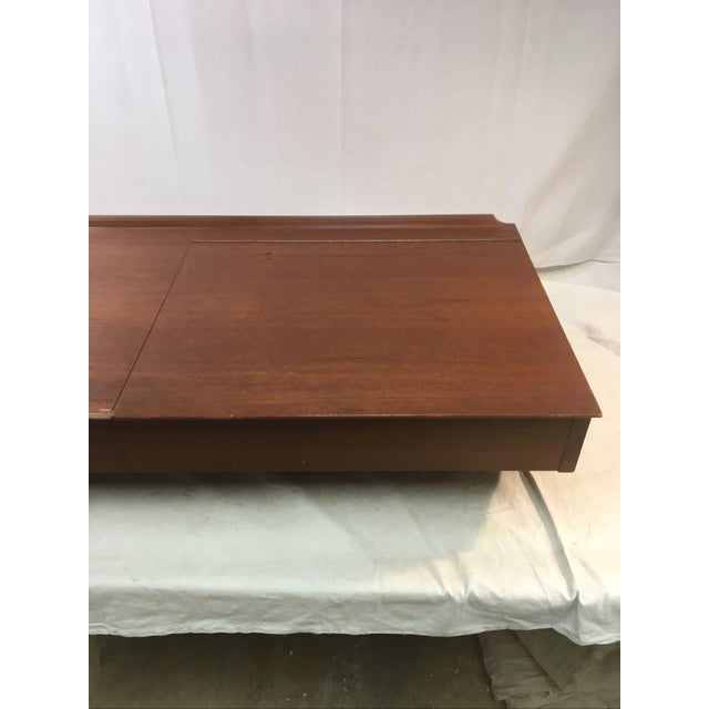 Vintage Danish Mid-Century Floating Wall Desk by George Tanier for Sibast Mobler For Sale - Image 9 of 13