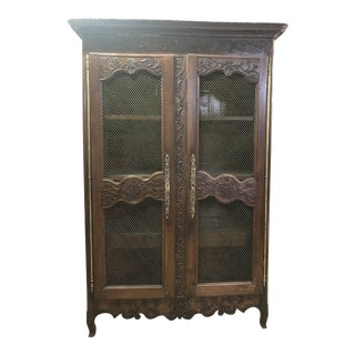 18th Century French Country Wardrobe For Sale
