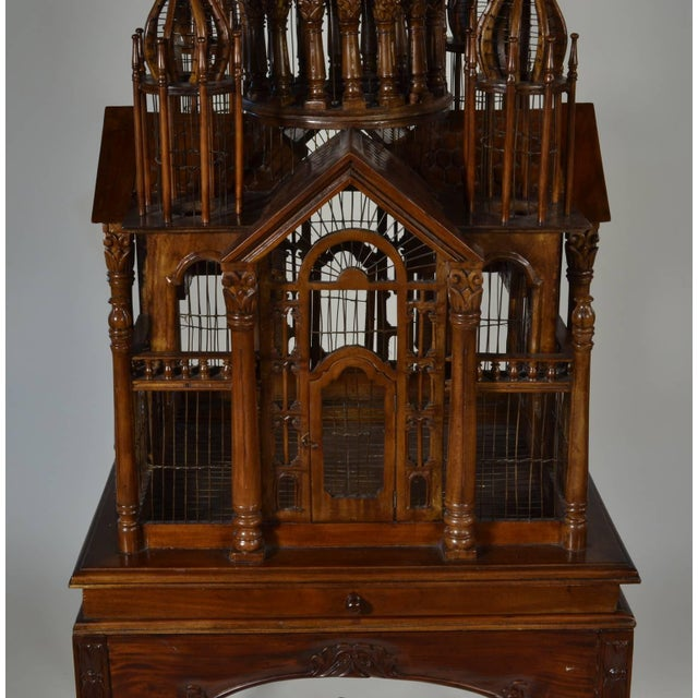 """19th Century """"Cathedral"""" Bird Cage For Sale - Image 5 of 7"""