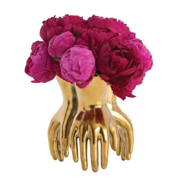 Brass Piedmont Hand Vase - Image 2 of 2