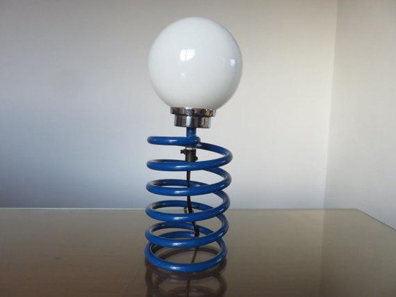Ingo Maurer Royal Blue Spring Lamp   Image 2 Of 3