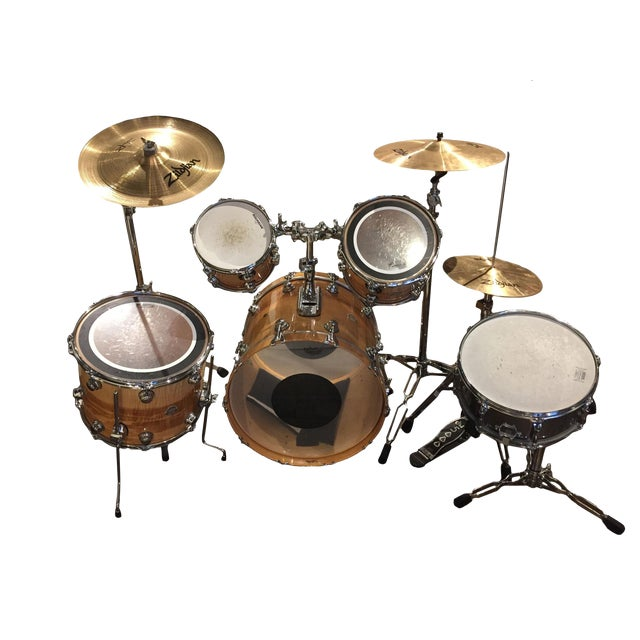 Drum Set of 5 For Sale