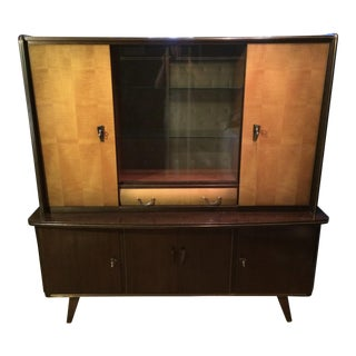 Bahre Mignon Mobel Mid-Century Shrunk Display Cabinet For Sale