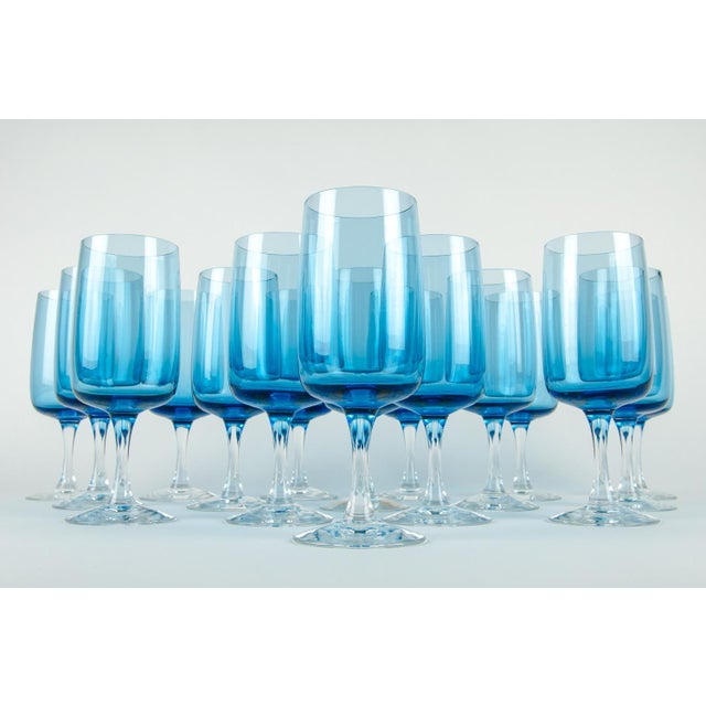 Vintage North America crystal barware wine / water glassware set of 16 pieces. Each glass is in excellent condition. Each...