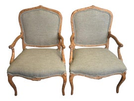 Image of Folk Art Corner Chairs