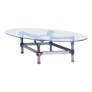 Equestrian Inspired Coffee Table For Sale