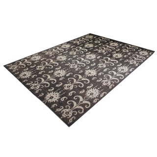 """Hand Knotted Ikat Rug - 9'9"""" X 14'0"""" For Sale"""