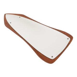 Danish Modern Teak Arrow Mirror
