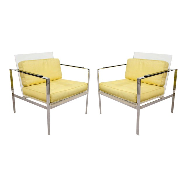 Laverne Lucite Chairs - a Pair - Image 1 of 11