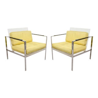 Rare Laverne Lucite Chairs For Sale