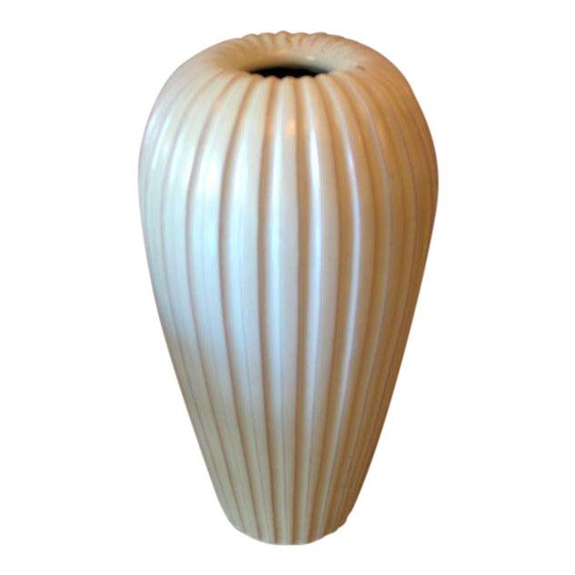 Sophisticated Large Swedish Mid Century Modern Vase Lamp Base By