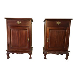 Tradition Style Side Tables - A Pair