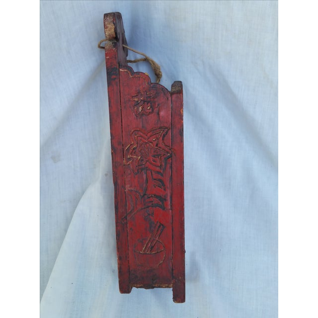 Vintage 1960s Chinese Chop Stick Holder - Image 3 of 5