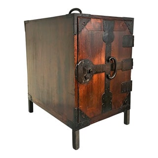 Japanese Meiji Period Ship Chest, Fune Tansu, dated 1883 For Sale