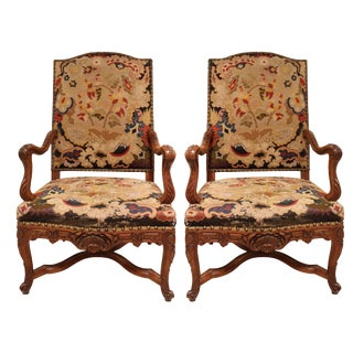 19th Century French Chairs With Original Upholstery, Circa 1850 - a Pair For Sale
