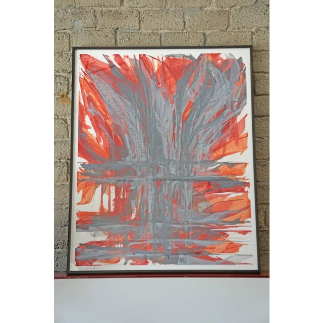 """""""IR-1534 Red Fire"""" Painting - Image 2 of 7"""
