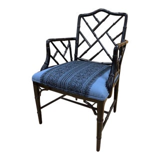 "Chinoiserie Cr Laine ""The Betty Arm Chair"" For Sale"