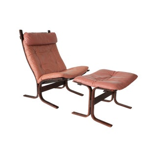 Westnofa Chair and Ottoman