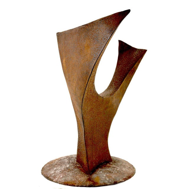 Mid 20th Century Brutalist Sculpture by Noted Artist Jack Hemenway For Sale - Image 5 of 13