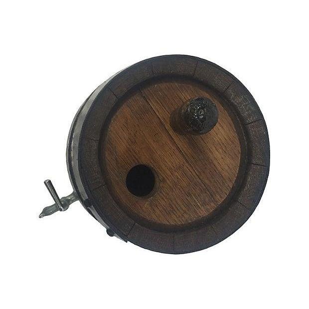 Old English Oak Wine Barrel - Image 2 of 6