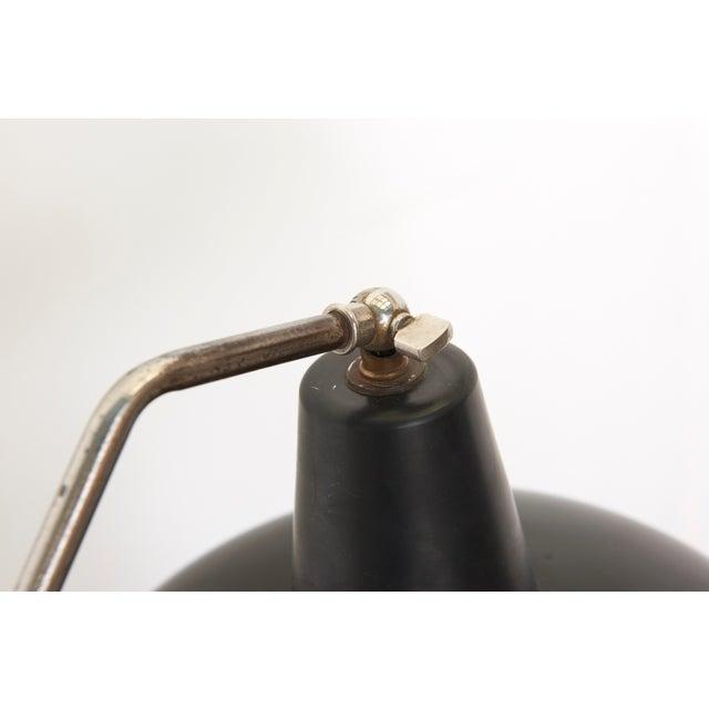 Black Hoogervorst Rare Counter Balance Floor Lamp for Anvia 1950s Netherlands For Sale - Image 10 of 11