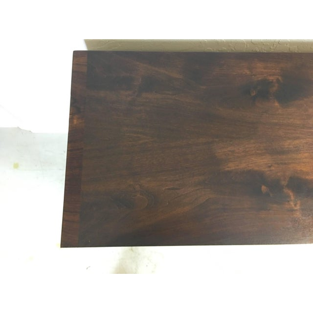 Mid-Century Walnut With Rosewood Inlay Credenza - Image 5 of 8